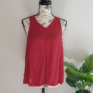 3/30 Madewell Women's Red Flared Tank 6
